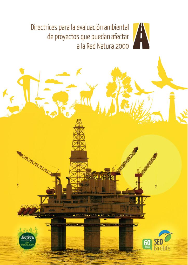 Portada Directrices para la evaluación ambiental de proyectos que puedan afectar a la Red Natura 2000