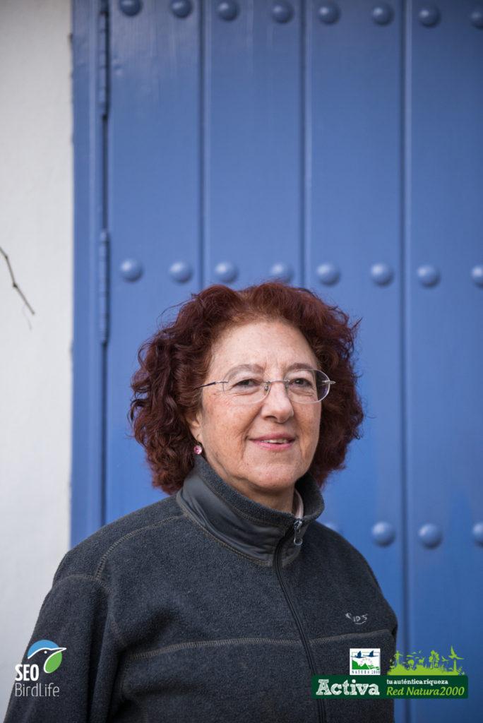 Carmen Bendala en la Sierra norte de Sevilla
